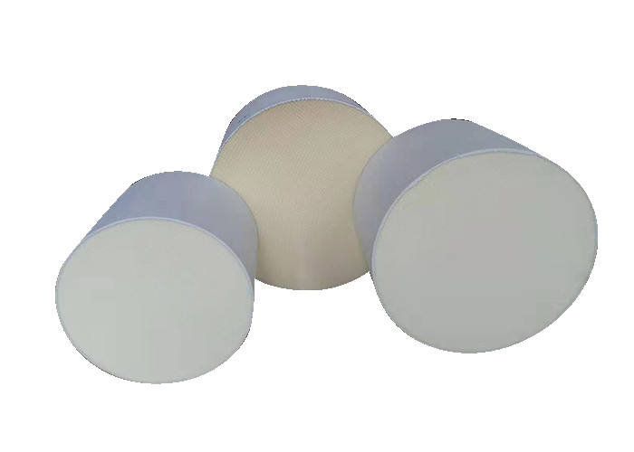 Ivory Color Diesel Particulate Honeycomb Ceramic Filter ISO9001 TS /16949